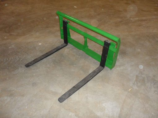 John Deere Compact Tractor Pallet Forks Attachment Photo 1