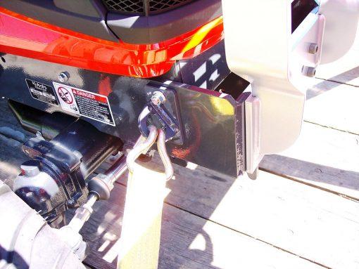 Kubota BX Front Tie Downs Photo 6