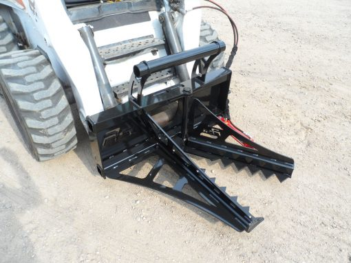 Skid Steer Loader Tree and Post Puller Photo 1