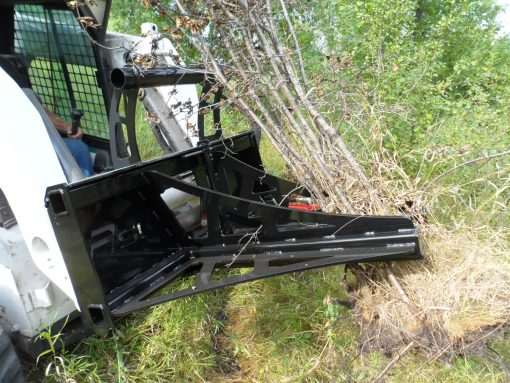 Skid Steer Loader Tree and Post Puller Photo 3