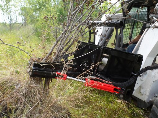 Skid Steer Loader Tree and Post Puller Photo 4