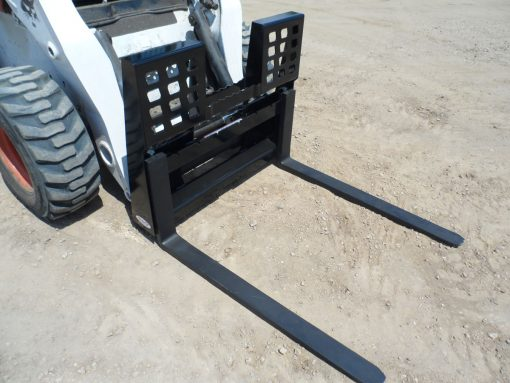 Skid Steer Loader Walk Through Pallet Forks Photo 1