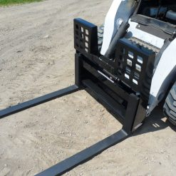 Skid Steer Loader Walk Through Pallet Forks Photo 2